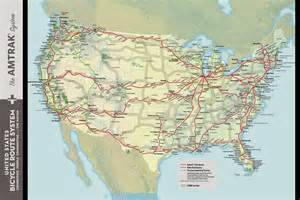 Map Of Amtrak Routes by Amtrak Train Routes Viewing Gallery