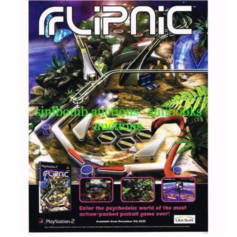 Ps2 Original Us Netzteil flipnic ps2 playstation 2 original magazine advert l001754
