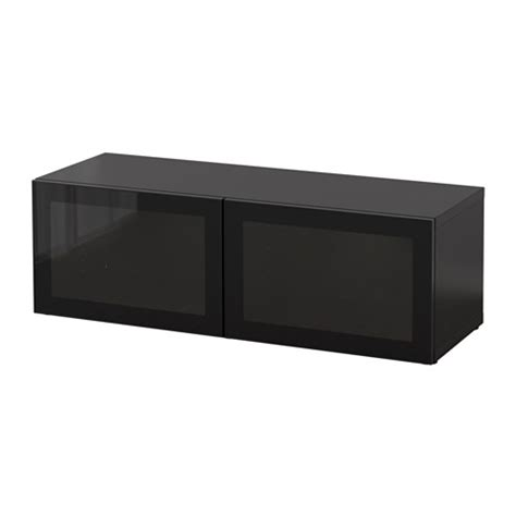 ikea besta shelf unit black brown best 197 shelf unit with glass doors black brown glassvik