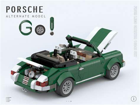 lego mini cooper porsche moc porsche for lego creator 10242 set miniplayhouse com
