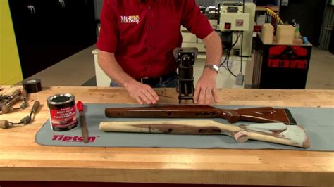 pattern stock midwayusa gunsmithing building a pattern stock presented by larry