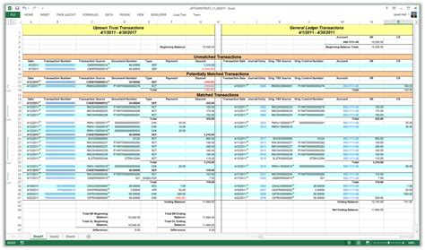 bank ledger template mdgp 2013 feature of the day reconcile bank