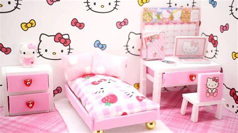 diy miniature dollhouse  kitty room   kit