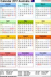Calendar 2015 With Holidays Australia Australia Calendar 2017 Free Printable Pdf Templates