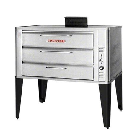 Oven Gas 60 X 40 blodgett 981 gas dbl deck oven 7in bake