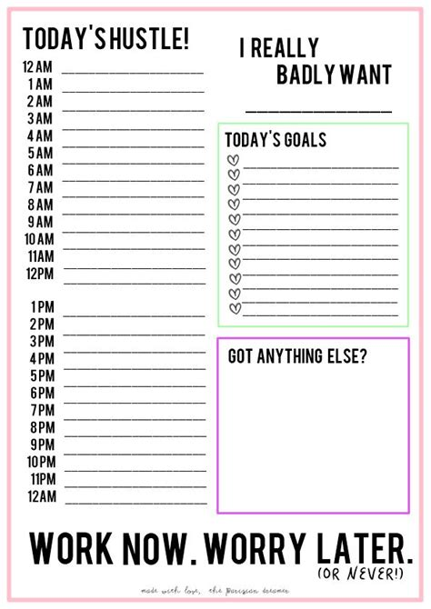 printable daily work schedule 25 best ideas about mom schedule on pinterest working
