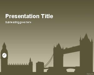 London Powerpoint Template Microsoft Powerpoint Templates Uk