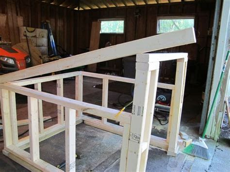 slanted roof dog house plans how to construct a modern slanted roof for your diy dog house dogs pinterest