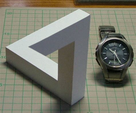 How To Make A Paper Illusion - 20 escher paper models album on imgur