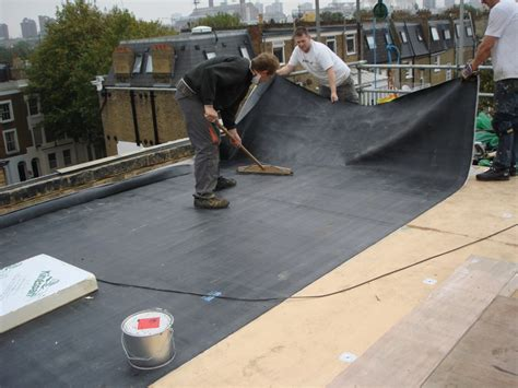 Flat Roof Installation Above All Roofing Flat Rubber Roofing