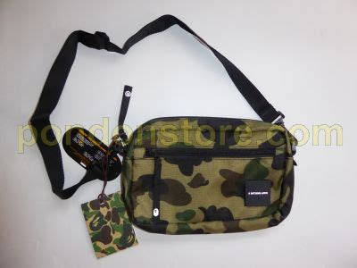 Bathing Ape Sling Bag Camo a bathing ape bape x cordura 1st camo green mini