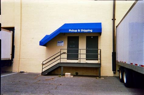 loading dock awnings 16 best stairwell stairs awnings by a hoffman awning