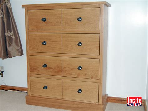 Handmade Bedroom Furniture - custom made to measure oak chest of drawers incite derby