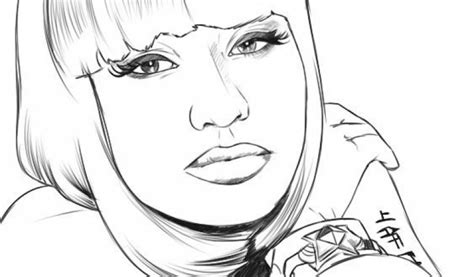 nicki minaj coloring pages get this nicki minaj coloring pages to print 21784