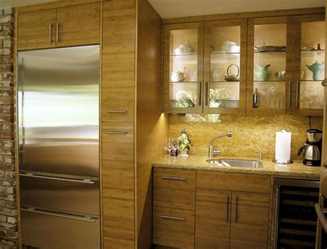 Bamboo Kitchen Cabinets by Advantages Of Bamboo Cabinetry Ideas 4 Homes