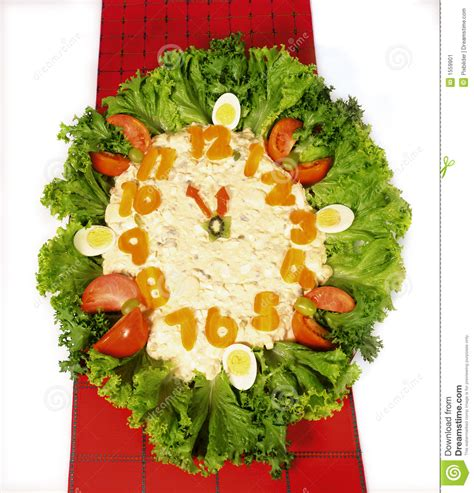 Potato Salad Decoration by Potato Salad Stock Image Image Of Food Occasion