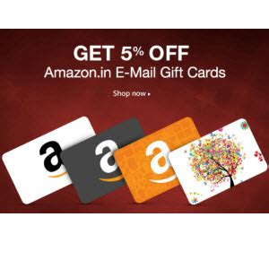 Amazon Gift Card Code India - amazon gift card offers upto 7 5 discount