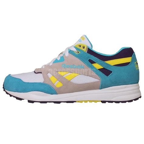 retro athletic shoes reebok ventilator athletic classic white blue retro