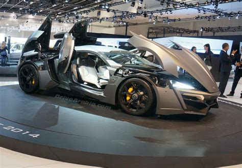 lykan hypersport doors lykan hypersport by w motors third most expensive car
