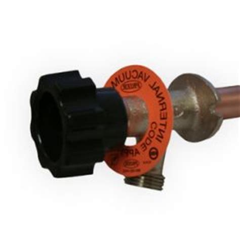 mansfield 421 series vacuum breaker anti siphon wall hydrant with 3 4 quot crimp pex connection