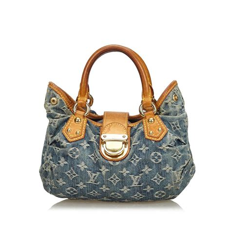 louis vuitton pleaty fabric monogram handbag france medium