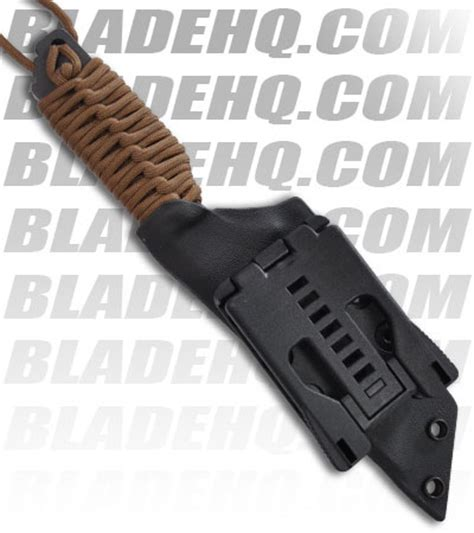 strider db strider knives db l tanto fixed blade knife w coyote cord