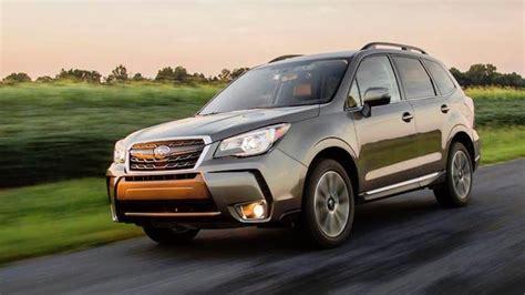 Subaru Forester Best Year by Best 2018 Subaru Outback Forester Crosstrek