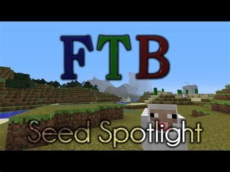 minecraft feed the beast unleashed seed plenty o'biomes