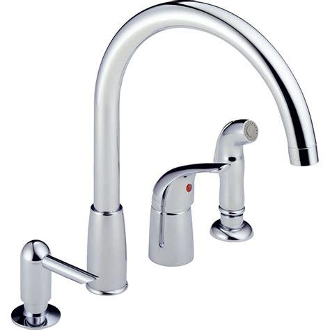 peerless faucets single handle widespread kitchen faucet peerless p88900lf single handle waterfall widespread
