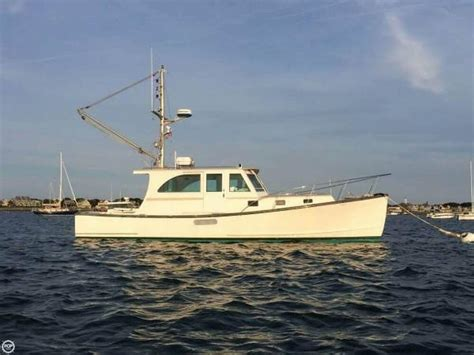 fishing boats for sale holland 2002 used holland 38 downeast fishing boat for sale