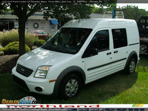 ford transit connect passenger wagon xlt 2010 ford transit connect xlt passenger wagon frozen white