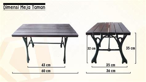 Kursi Taman Aluminium dimensi kursi taman kembar teknika kembar teknika