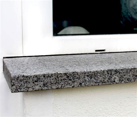 fensterb 228 nke granit marmor klepfer naturstein - Naturstein Fensterbank Außen Einbauen