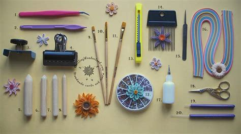 How To Make Quilling Paper Strips At Home - quilling tools all difficult names in one place you don