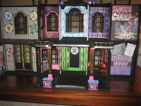 diy monster high doll house monster high doll house kid stuff pinterest