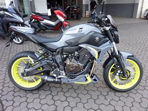 Motorrad Auspuff Mt 07 by Umgebautes Motorrad Yamaha Mt 07 Von Zweirad Center Z 246 Ller
