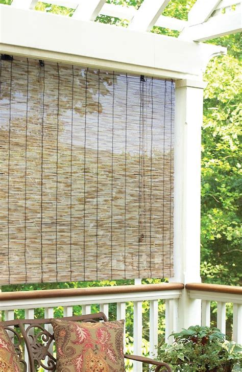 25 best ideas about outdoor blinds on porch