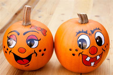 Painted Pumpkins | get pumped for pumpkin do you bake