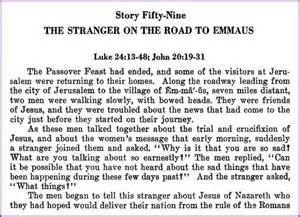 Blind Bartimaeus Bible Study On The Road To Emmaus And Doubting Thomas Stories Jesus