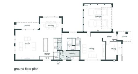 Indoor Outdoor Living Home Plans by Contemporary Plan For An Infill Lot Time To Build