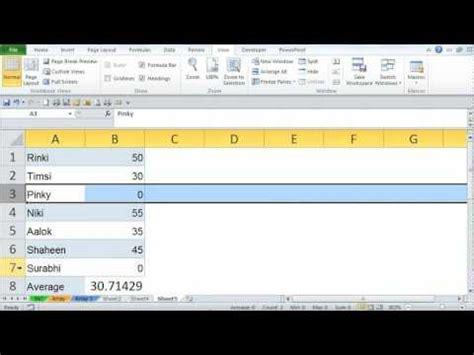 tutorial excel formulas 2010 microsoft excel 2010 array formula exles tutorial 2