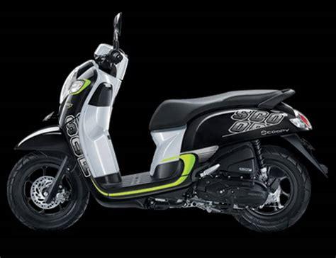Stylish Black All New Scoopy Gry Honda Motor Otr Semarang scoopy sporty black informasi otomotif mobil motor