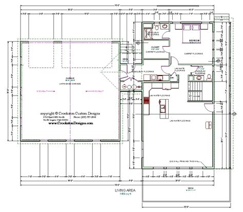 main floor plans crookston designs plan 14009 00