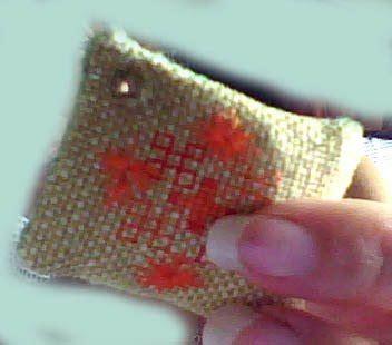 Najma Bordir labores najma lil sweet dolls floss ring tag