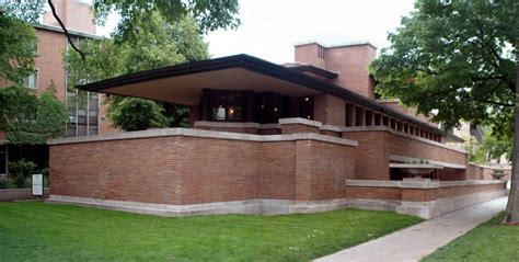 Robie House Chicago Robie House Frank Lloyd Wright Chicago United States