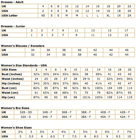 womens shoe size uk to us conversion