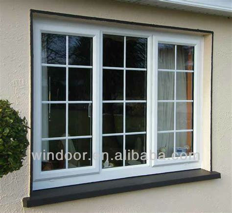 windows that swing open plastic frame material and swing open style inward swing