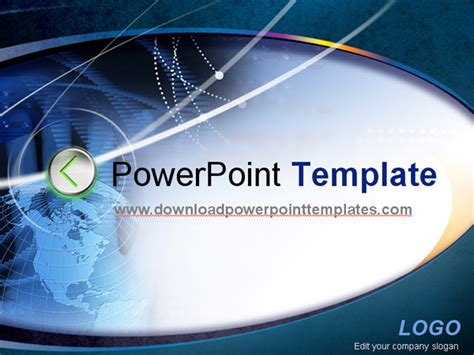 technology powerpoint template free download gavea info