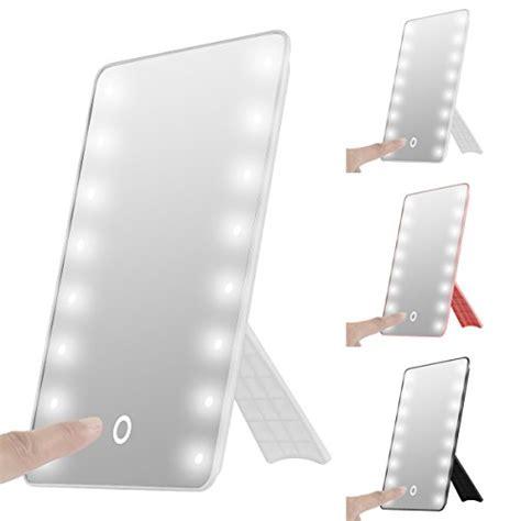 Plastic Vanity Mirror Foldable Led Lighted Vanity Mirror With Light Oenbopo