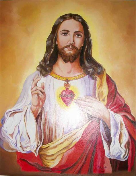 sacred heart religious paints orlandofinearts